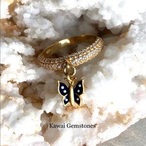 Jewelry - ✨Beautiful Butterfly Ring✨925